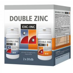 Double Zinc exc-inc kapszula 30+30 db 60 db