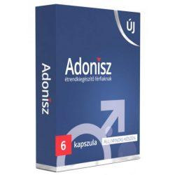 Adonisz 6 potencianövelő férfiaknak étrendkiegészítő 6 db