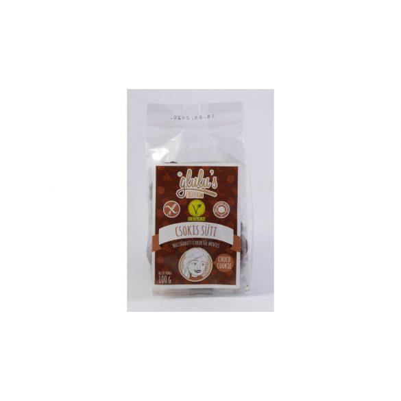 Glulu freefrom csokis süti hozzáadott cukor mentes 100 g
