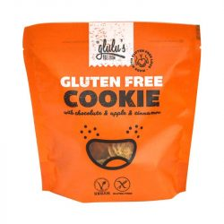 Glulu freefrom csokoládés almás-fahéjas keksz 100 g
