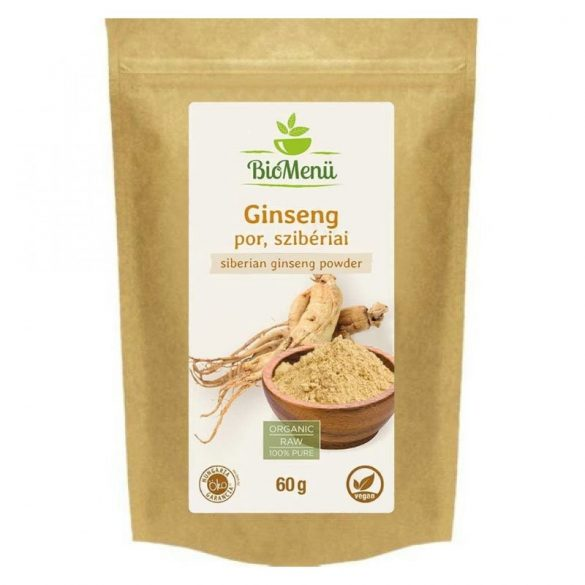 Bio menü bio ginseng por szibériai 60 g