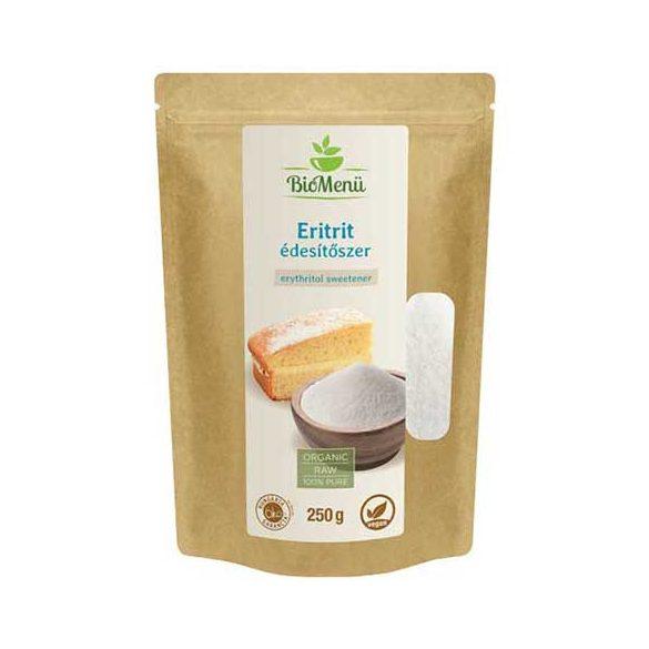 BioMenü BIO ERITRIT édesítőszer 250 g  Új termék