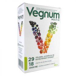 Vegnum multi-d étrendkiegészítő multivitamin kapszula 30 db