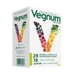 Vegnum multi-d étrendkiegészítő multivitamin kapszula 60 db
