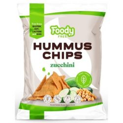 Foody Free gluténmentes hummus chips cukkinivel 50 g