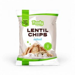 Foody Free gluténmentes lencse chips sóval 50 g