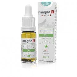 Magna CBD Olaj (olívaolajban) 2,5 % (10ml)