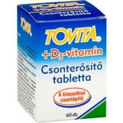 Tovita csonterősítő tabletta+d3 vitamin 60 db