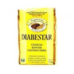 Diabestar génius kenyér lisztkeverék 1000 g