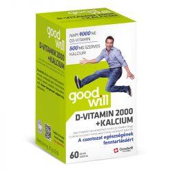 GOODWILL D-VITAMIN 2000+KÁLCIUM