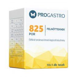Progastro 825 por felnőtdbnek élőflórát tartalmazó étrend-kiegészítő készítmény 10+ tasak