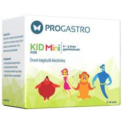 Progastro kid mini por 0-3 éves gyerekeknek élőflórát tartalmazó étrend-kiegészítő készítmény 3 tasak