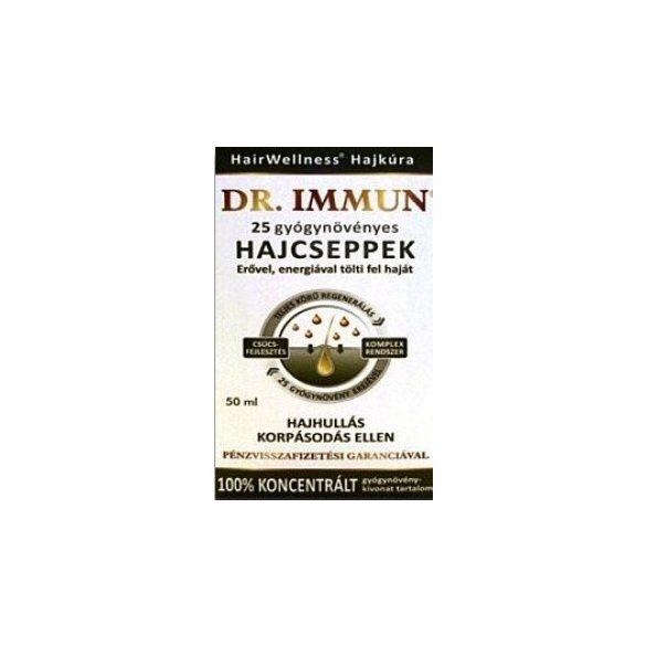 Dr.immun 25 gyógynövényes hajcseppek 50 ml