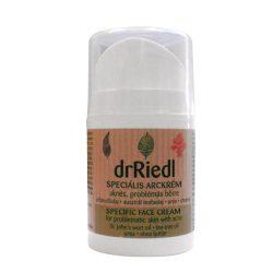 Dr Riedl antibakteriális arckrém aknés bőrre 50 ml