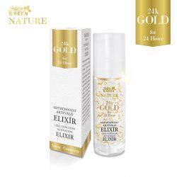 Golden Green nature 24k gold sejtműködést segítő bőrtápláló elixír 30 ml