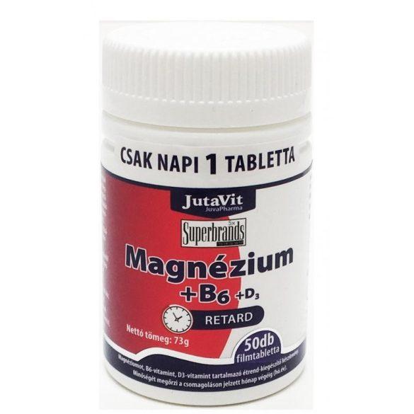Jutavit magnézium+b6 filmtabletta 50 db