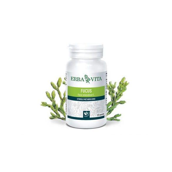 ErbaVita® Barna alga tabletta - Szerves jód- és kolloidális alginsav forrás. Moszat az anyagcsere serkentéséhez.