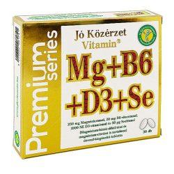 Jó Közérzet prémium mg+b6+se+d3 30 db
