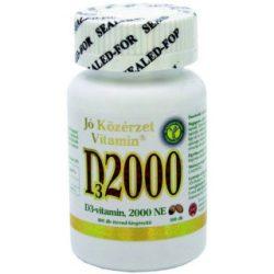 Jó Közérzet d3-vitamin 2000ne kapszula 100 db