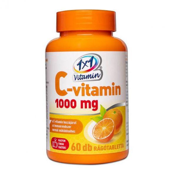 1x1 vitaday c-vitamin 1000mg rágótabletta 60 db