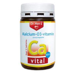 Dr. Herz Kalcium + D3-vitamin tabletta 60db