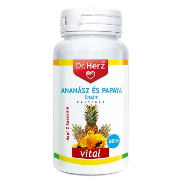 Dr.Herz Ananász-Papaya Kapszula 60 db