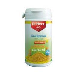 Dr.Herz Kurkuma+C-Vitamin Kapszula 60 db