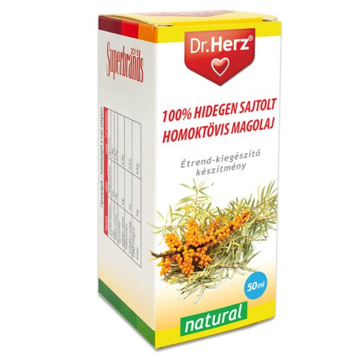 DR.HERZ 100% HIDEGEN SAJTOLT HOMOKTÖVIS MAGOLAJ 50ML