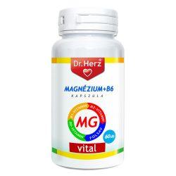 Dr.Herz Magnézium+B6 Kapszula 60 db