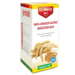 Dr.herz búzacsíra olaj 100% hidegen sajtolt 50 ml