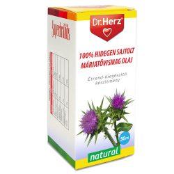 Dr.herz máriatövismag olaj 100% hidegen sajtolt 50 ml