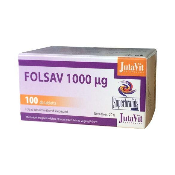 JUTAVIT FOLSAV TABLETTA 100 db