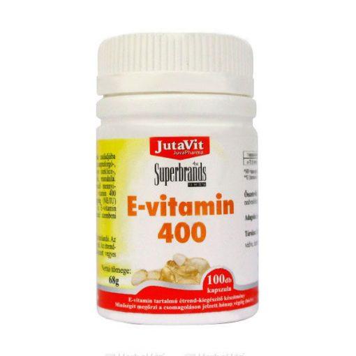 JUTAVIT E-VITAMIN 400 KAPSZULA 100 db