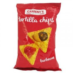 Grannys barbecue tortilla chips 150 g