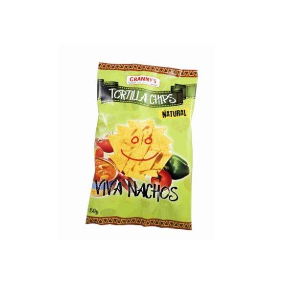 Grannys enyhén sós tortilla chips gluténmentes 150 g