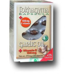 Dr.chen fokhagyma kapszula+c vitamin 100 db