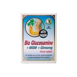 Dr.chen bio glucosamine+msm+ginseng forte tabletta 40 db