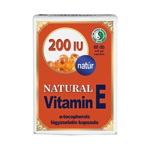 DR.CHEN NATURAL VITAMIN E 200 60 db