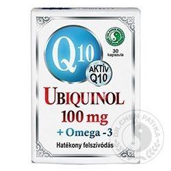 Dr.chen q10 ubiquinol 100mg+omega3 kapszula 30 db