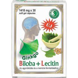 Dr.chen ginkgo biloba+lecitin kapszula 30 db