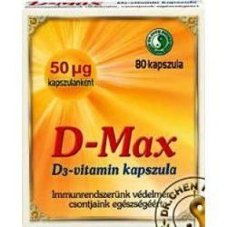 Dr.chen d-max d3-vitamin kapszula 80 db
