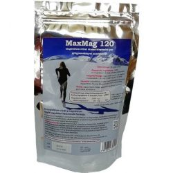 Maxmag 120 magnézium-citrát étrend-kiegészítő italpor 120 g