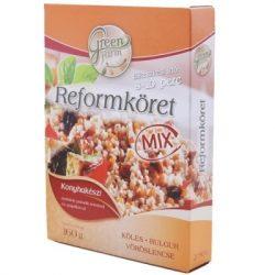 Green Farm reform köret mix bulgur köles vöröslencse 160 g