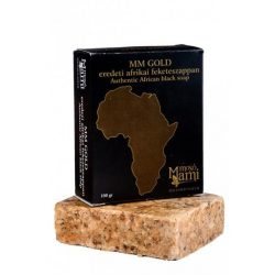 Mm Gold Natúr Afrikai Fekete Szappan 100 g