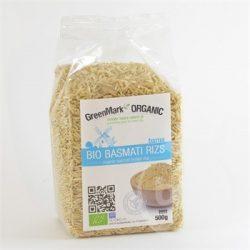 Greenmark bio basmati barnarizs 500 g