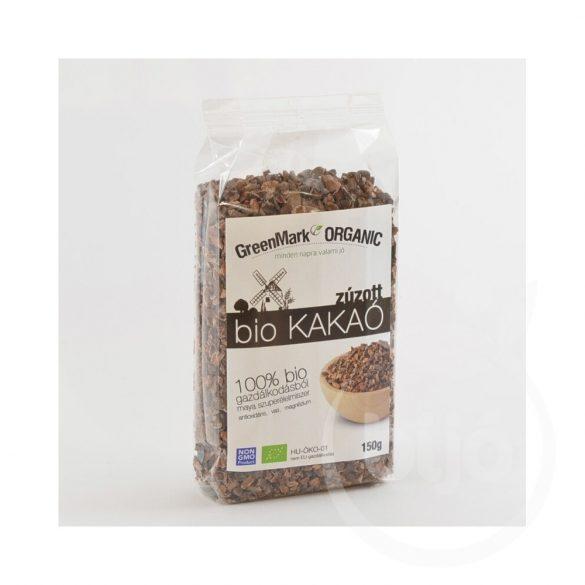 Greenmark bio kakaóbab pörkölt zúzott 150 g