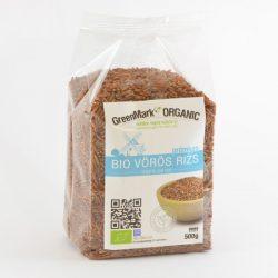 Greenmark bio vörös rizs 500 g