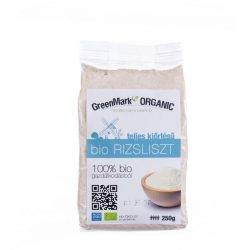 Greenmark bio teljes kiőrlésű rizsliszt 250 g