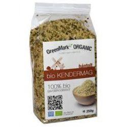 Greenmark bio kendermag hántolt 250 g