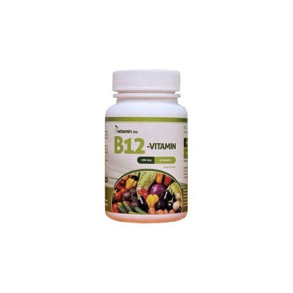 Netamin B12-vitamin 100 mcg (40 tabl.)